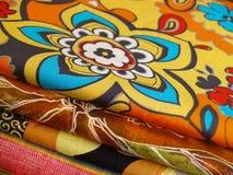 Mezcla impresa del algodón Imagen de archivo libre de regalías
