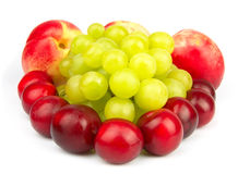 Mezcla jugosa de la fruta Fotografía de archivo libre de regalías