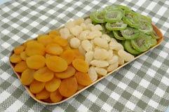 Mezcla secada de las frutas Imagen de archivo
