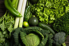 Mezcla vegetal verde fotos de archivo libres de regalías