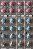 Mezclador audio Imagen de archivo