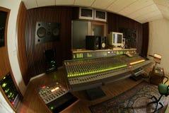 Mezclador audio profesional Imágenes de archivo libres de regalías