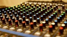 Mezclador audio profesional