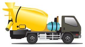 Mezclador concreto stock de ilustración