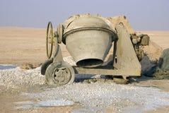 Mezclador de cemento Foto de archivo libre de regalías