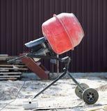Mezclador de cemento Fotos de archivo libres de regalías