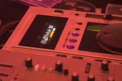 Mezclador de DJ Fotos de archivo libres de regalías