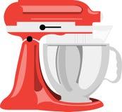 Mezclador de la cocina ilustración del vector