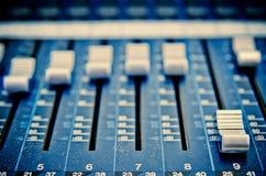 Mezclador 1 de la música Foto de archivo libre de regalías
