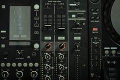 Mezclador 1 de la música Consola del mezclador fotos de archivo