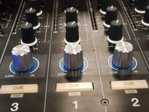 Mezclador de Serato DJ digital imagen de archivo libre de regalías