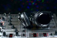 Mezclador de sonidos Imágenes de archivo libres de regalías