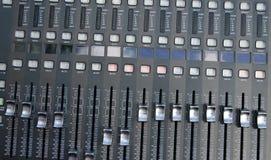 Mezclador de sonidos de Profi Foto de archivo libre de regalías