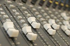 Mezclador del sonido y de la música Imagen de archivo