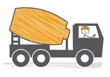 """Mezclador del tránsito de In†"""" ilustración del vector"""