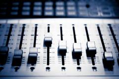 Mezclador estéreo Imagenes de archivo
