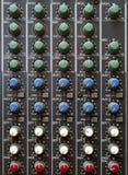 Mezclador multi del canal Foto de archivo