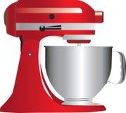 Mezclador rojo del soporte libre illustration