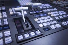Mezclador video Foto de archivo