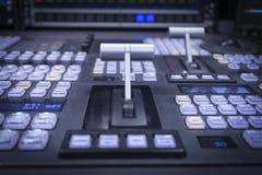 Mezclador video Imagen de archivo libre de regalías