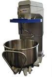 Mezcladora de la pasta con el cuenco movible Foto de archivo libre de regalías