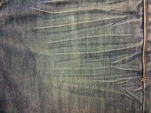 Mezclilla azul imagen de archivo