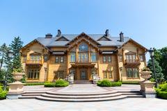 Mezhigirya residence of Yanukovich Royalty Free Stock Images