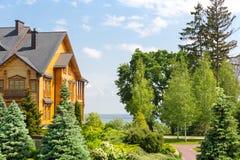 Mezhigirya-Wohnsitz von Yanukovich Lizenzfreie Stockbilder
