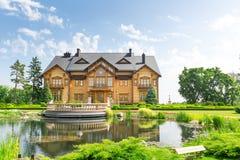 Mezhigirya-Wohnsitz von Yanukovich Stockfoto