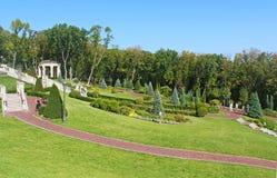 Mezhyhirya - бывшая личная резиденция бывшего президента Yanukovich Стоковое Изображение RF