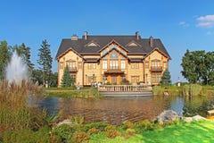 Mezhyhirya - former private residence of ex-president Yanukovich, Kyiv region, Ukraine Royalty Free Stock Image