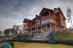 Mezhyhirya main landmark - residence `Honka` royalty free stock image