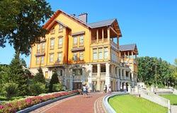 Mezhyhirya - residência privada anterior da ex-presidente Yanukovich Fotos de Stock Royalty Free
