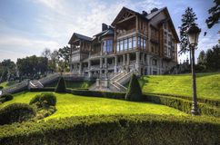 Mezhyhirya Residence of former Stock Image