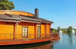 Mezhyhirya is the residence of former President of Ukraine Viktor Yanukovych in Novi Petrivtsi Stock Image