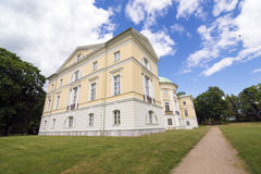 Mezotne Palace Stock Photo