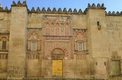 "Mezquita†""Catedral DE Cà ³ rdoba, Andalucia, Spanje Royalty-vrije Stock Afbeelding"