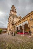 Mezquita大教堂尖塔,科多巴 免版税库存图片
