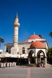 Mezquita, ágora, Kos Fotografía de archivo libre de regalías