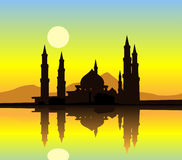 Mezquita ilustración del vector