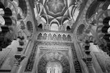 Mihrab in Mezquita of Cordoba Royalty Free Stock Photography
