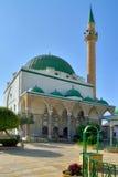 Mezquita antigua de Akko Israel Imagen de archivo libre de regalías
