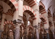 Mezquita Arches Royalty Free Stock Photo