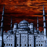 Mezquita azul Foto de archivo libre de regalías