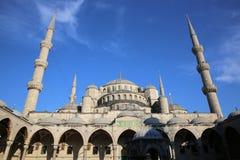 Mezquita azul Fotografía de archivo libre de regalías