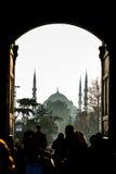 Mezquita azul Imagen de archivo libre de regalías