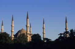 Mezquita azul Imágenes de archivo libres de regalías