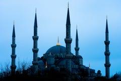 Mezquita azul azul Imágenes de archivo libres de regalías