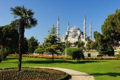 Mezquita (azul) de Ahmed del sultán foto de archivo libre de regalías