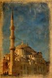 Mezquita azul en Estambul imagen de archivo libre de regalías